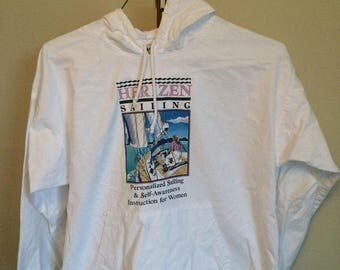 90s Herizen Personalized Sailing and Self awareness for women hoodie