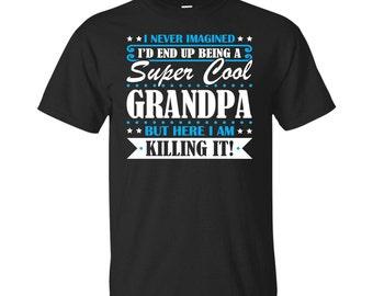 Grandpa, Grandpa Gifts, Grandpa Shirt, Super Cool Grandpa, Gifts For Grandpa, Grandpa Tshirt