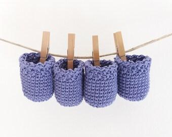 Set di 4 calze per sedie - calze all'uncinetto, protezione pavimenti, decorazioni bambini, calze a crochet,accessori sedie, calze per tavolo