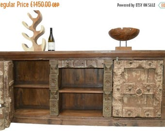 20% off this item Reclaimed Wood Large Rustic Sideboard