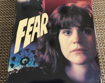 Fear Rare VHS Thriller Horror Slasher