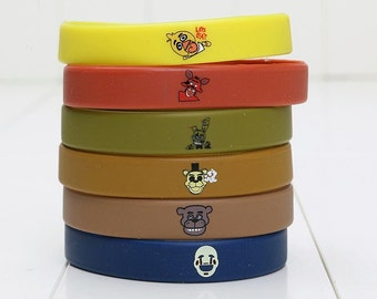 14 FNAF Five Nights at Freddy's Birthday Wristbands!  FREE Shipping!