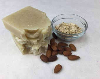 Almond Oatmeal Soap