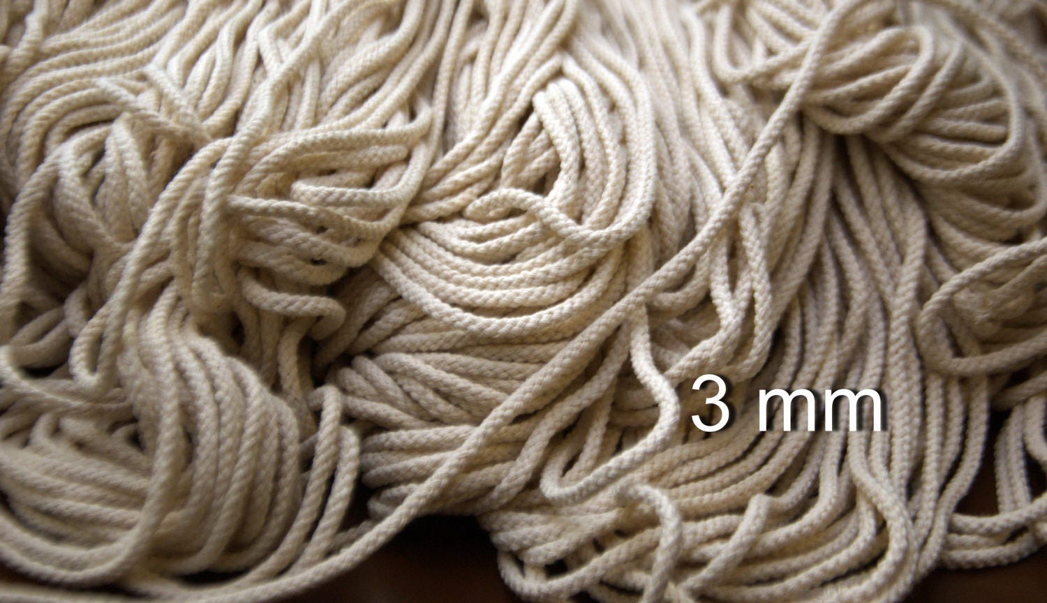 macrame cord cotton macrame cotton cord macrame cord 3 mm 1 8 1070