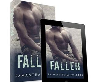 Fallen-premade book cover design- Ebook & Print available