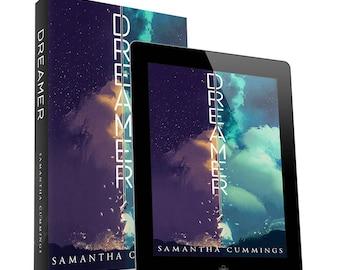 Dreamer-premade book cover design- Ebook & Print available