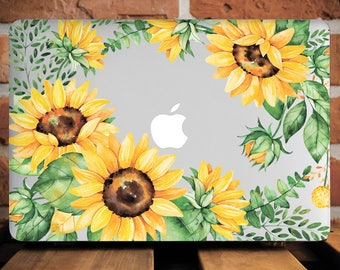 Sunflower Gaze MacBook Case MacBook Air 11 Cover Mac Case MacBook Air 11 Case MacBook Pro 13 Case Laptop Case New Macbook Pro 13 Cover Sun
