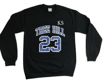 Tree Hill Scott 23 - Crew Neck - Black