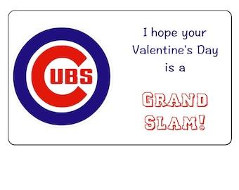 Printable Cubs' Valentines