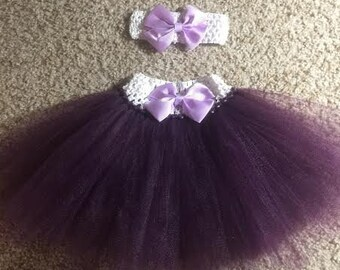 Plum Purple Baby Tutu