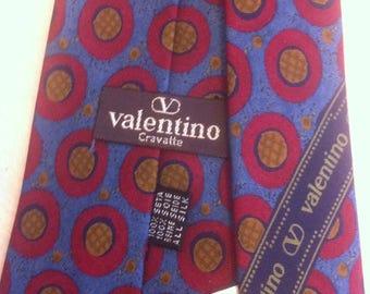 """Valentino"""" silk tie, unused! Perfect classic"""