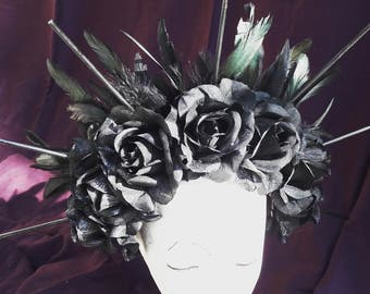 Feathers and roses Halo