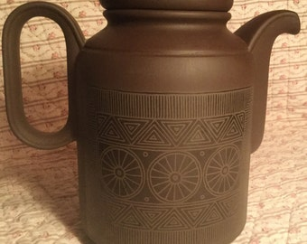 Hornsea Lancaster Vitramic Palatine Coffee Pot  1970's