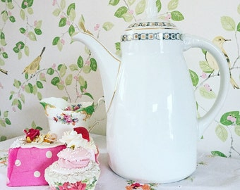 Coffee Pot, Vintage Coffee Pot, Serving Coffee Pot, Vintage Kitchen, Kitchenalia.