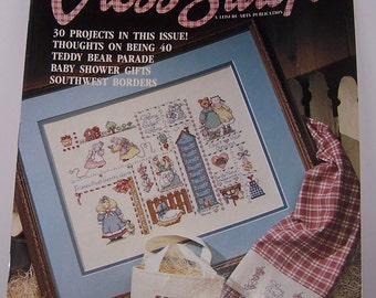 For The Love Of Cross Stitch - A Leisure Arts Publication - July 1990