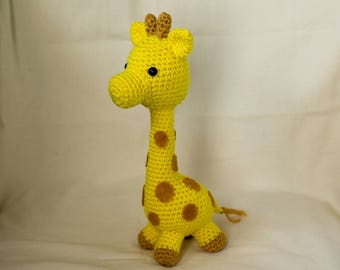 Giraffe Crochet Pattern, Giraffe Amigurumi, Plush Toy