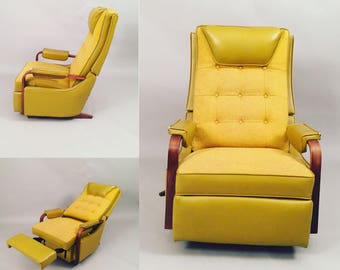 Mid-Century recliner lounge chair