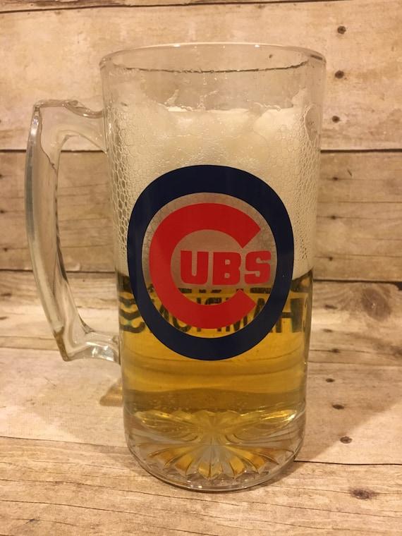 Chicago Cubs 2016 World Series Champions Cubs Beer Mug Man