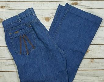 "70's High waisted Levi's/ mom jeans, 34"" waist"