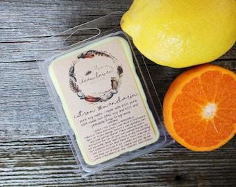 Citrus Wax Melts - Soy Melts - Wax Tarts - Spring Scents - Natural Soy