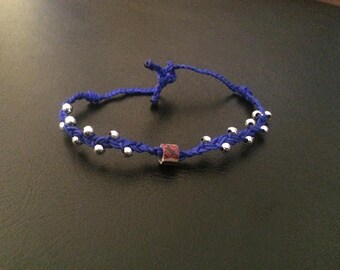 Royal Blue Luck Bracelet