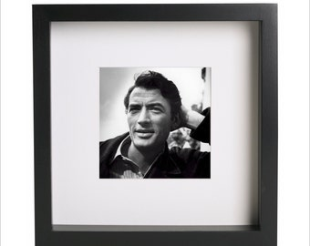 Gregory Peck photo print   Use in IKEA Ribba frame   Looks great framed for gift   Free Shipping   #1