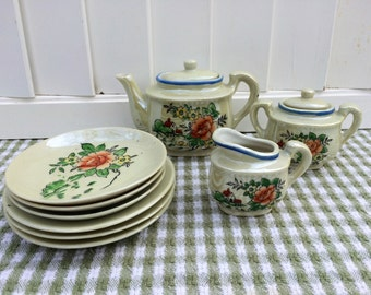 Toy Lusterware Dishes