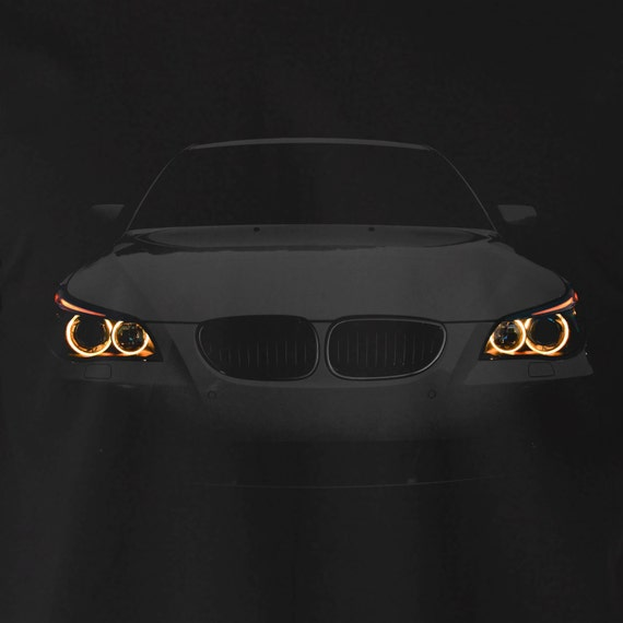 bmw e60 t shirt angry 530 angel eyes lights 100 cotton. Black Bedroom Furniture Sets. Home Design Ideas