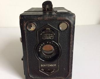 Box camera,vintage Zeiss Ikon box tengor