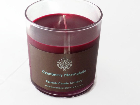 Cranberry Marmalade Scented Candle in Straight Tumbler