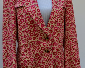 1970 EMANUEL UNGARO blazer / collectible