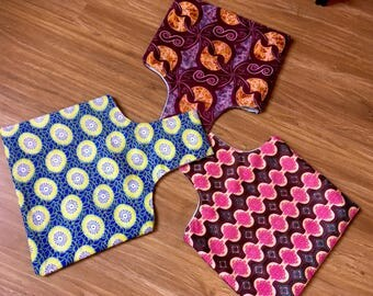 Crochet-On-The-Go-Bags - African Style
