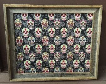 Sugar Skull Bulletin Board Day Of The Dead Decorations Sugar Skulls Gift Sugar