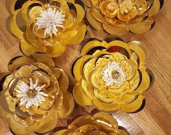Paper Flower Template in PDF digital #5