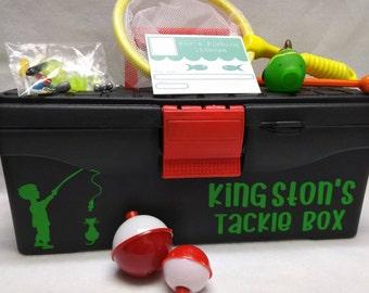 Kids Fishing- Tackle Box -Fishing Bait Box- Fishing Set for kids- Gift Set- Creative kids - active kids