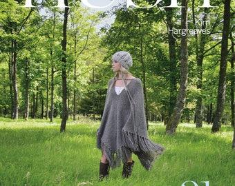 Hush by Kim Hargreaves, a book of 21 knitting designs for women using Rowan yarn ISBN 1-906487-24-9