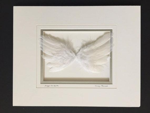 Unframed Angel Wing Themed Art