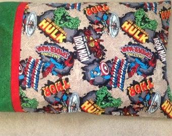 Marvel Super Heroes Pillow Case- Standard Pillow