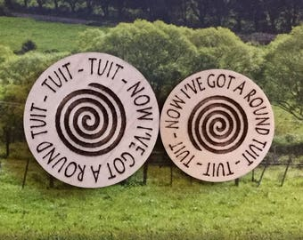 Round Tuit, Get That Job Done, Round Tuit Token, 10 Round Tuit Tokens, Gifts for Geeks,