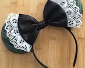 Haunted Mansion Inspired Ears, Haunted Mansion Ears, Halloween Ears, Minnie Ears, Disney Ears, Haunted Mansion Mouse Ears, MNSSHP Ears