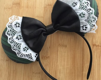 Haunted Mansion Inspired Ears, Haunted Mansion Ears, Halloween Ears, Minnie Ears, Disney Ears, Haunted Mansion Mouse Ears, MNSSHP Ears