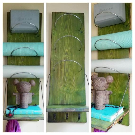 Yoga Tapis Tag Re De Rangement Fournitures Dyoga Stockage