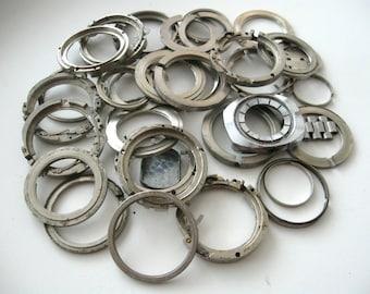 Vintage watch parts Steampunk Craft Supplies 156gms
