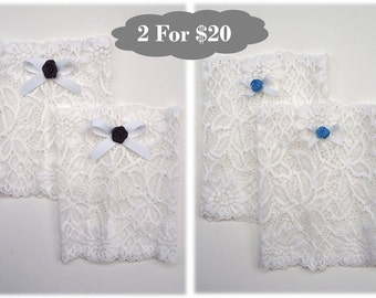 Lace Boot Cuffs - 2 For 20 Deal