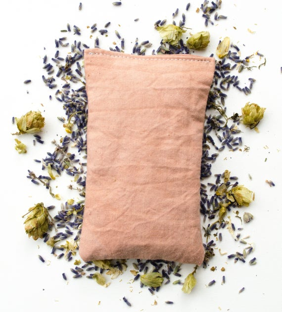 Herbal Sleep Sachet, Lavender Pillow, Herb Dream Pillow, Baby Shower Gift, New Mom Gift, Bridal Shower Favours, Wedding Favors, Boho Wedding