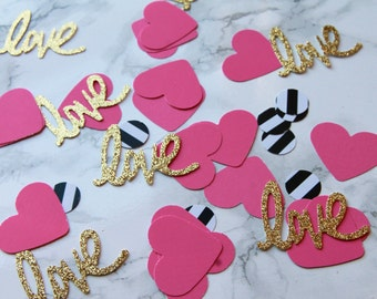 Kate Spade inspired large confetti - 50 pieces