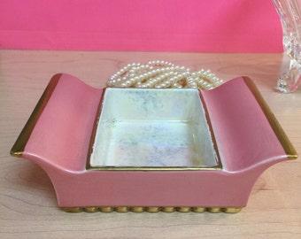 Carlton Ware Hot Pink Trinket Dish
