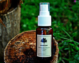 Pure Rosehip Oil. 1st Pressure. 30 ml. Regenerating dermal tissues. Special for spots, stretch marks, scars.