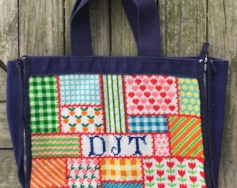 Homemade patchwork handbag DJT