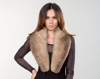 Fox Fur Collar ,Real Fur, Neckwearing, Fur Shawl